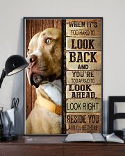 Pitbull Beside You 11x17 Poster lifestyle-poster-2