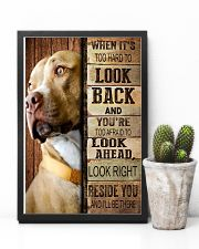Pitbull Beside You 11x17 Poster lifestyle-poster-8