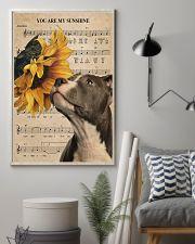 Pitbull Sunshine Poster 11x17 Poster lifestyle-poster-1