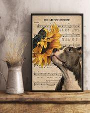Pitbull Sunshine Poster 11x17 Poster lifestyle-poster-3