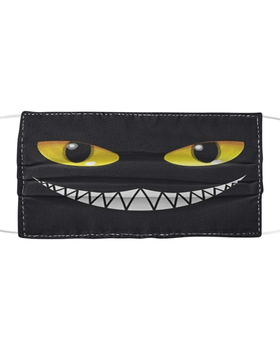 Evil Cat Smile Cloth face
