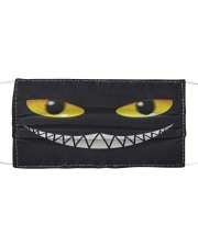 Evil Cat Smile Cloth face  front