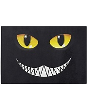 Evil Cat Smile Rectangle Cutting Board thumbnail