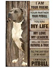 Your Pitbull Poster 11x17 Poster front