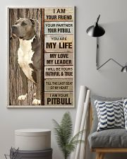 Your Pitbull Poster 11x17 Poster lifestyle-poster-1