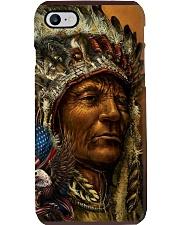 Native American Art Poster Phone Case thumbnail
