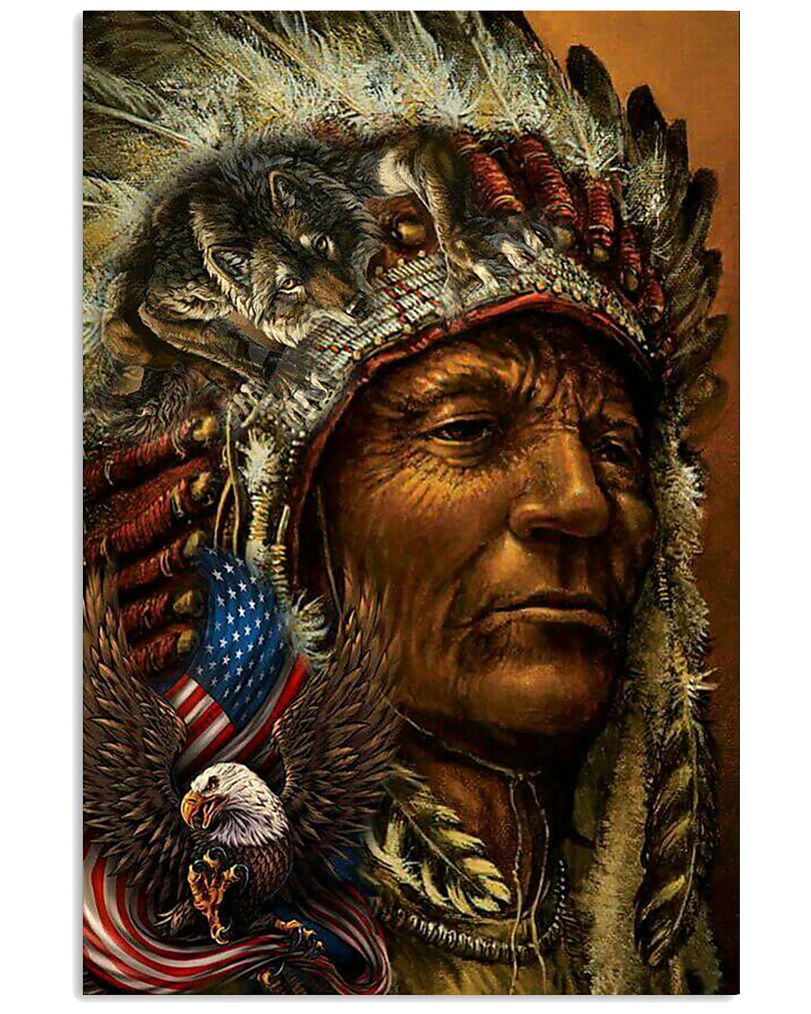 Native American Art Poster 24x36 Poster