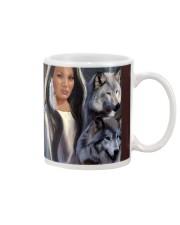Wolf Spirit Art Poster Mug thumbnail