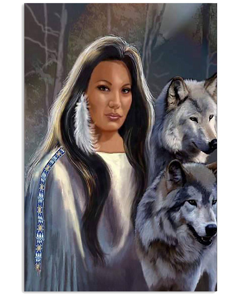 Wolf Spirit Art Poster 24x36 Poster