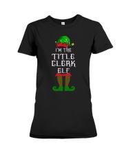TITLE CLERK Premium Fit Ladies Tee thumbnail