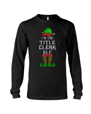 TITLE CLERK Long Sleeve Tee thumbnail