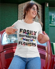 Easily distracted by flowers T-shirt Ladies T-Shirt apparel-ladies-t-shirt-lifestyle-01