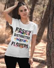 Easily distracted by flowers T-shirt Ladies T-Shirt apparel-ladies-t-shirt-lifestyle-06