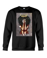Praying Queen Crewneck Sweatshirt front