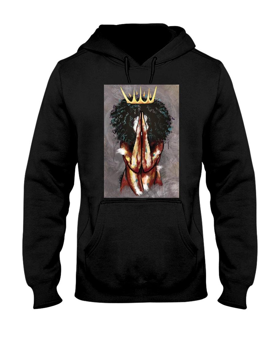 Praying Queen Hooded Sweatshirt