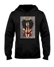 Praying Queen Hooded Sweatshirt front