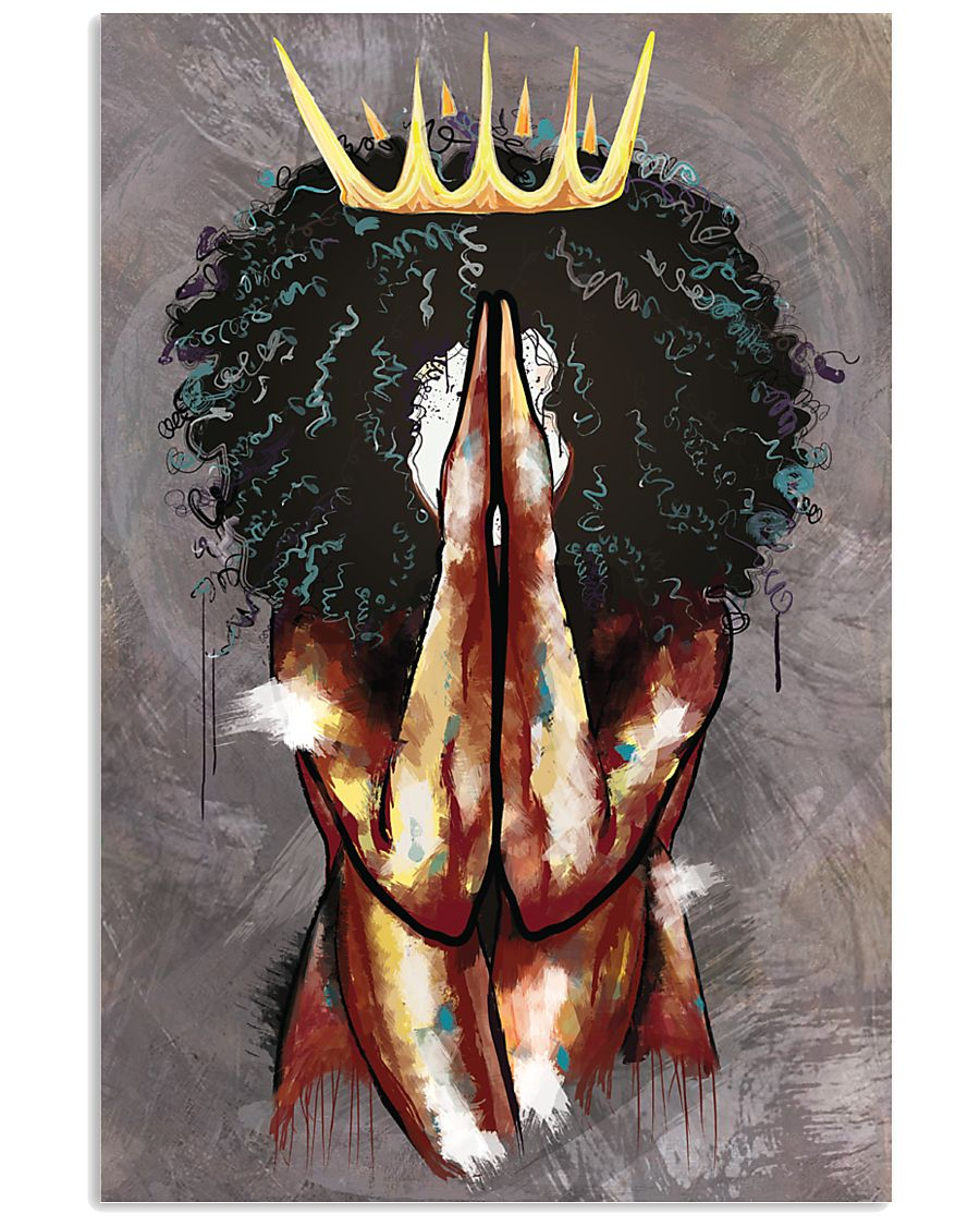 Praying Queen 16x24 Poster