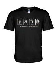 Father Science V-Neck T-Shirt thumbnail