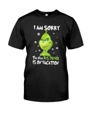 Bus Driver Is On Vacation Classic T-Shirt thumbnail