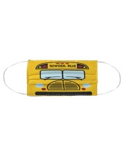 School Bus Limted  Cloth face mask aos-face-mask-coverlet-lifestyle-front-01