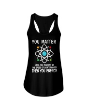 Science Matter Ladies Flowy Tank front