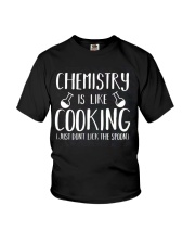Chemistry Is Like Cooking Youth T-Shirt thumbnail