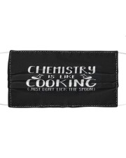 Chemistry Is Like Cooking Cloth face mask thumbnail