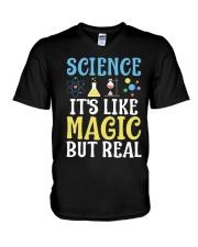 Science It's Like Magic V-Neck T-Shirt thumbnail