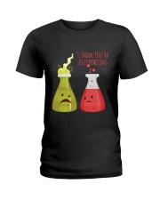 Youre Overreacting Ladies T-Shirt thumbnail