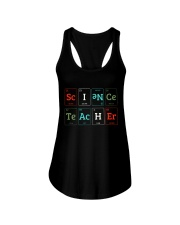 Science Teacher Limited Ladies Flowy Tank front