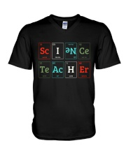 Science Teacher Limited V-Neck T-Shirt tile