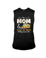 I'm A Mom And School Bus Driver Sleeveless Tee thumbnail
