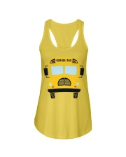 School Bus Ladies Flowy Tank thumbnail