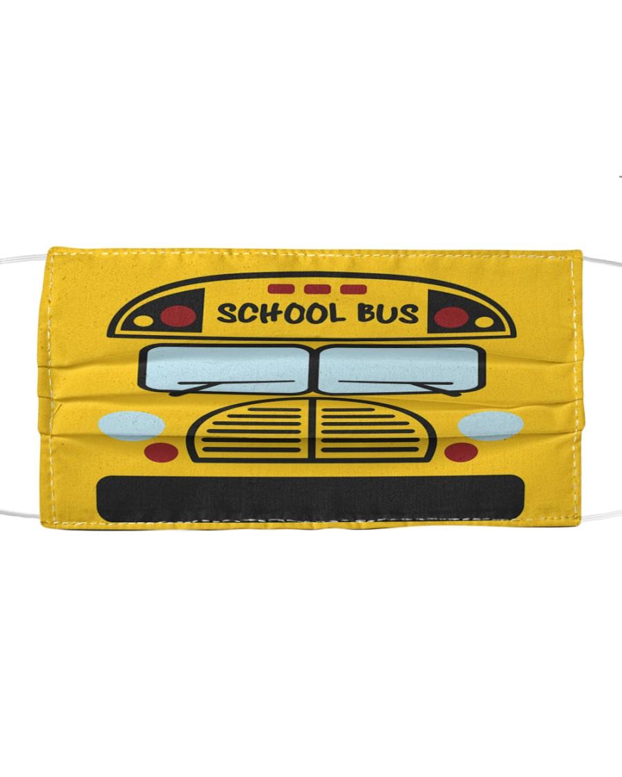 School Bus Cloth face mask