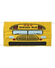 School Bus Cloth face mask front
