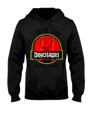 I Raise Tiny Dinosaurs - Chickens lover  Hooded Sweatshirt thumbnail
