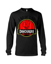 I Raise Tiny Dinosaurs - Chickens lover  Long Sleeve Tee thumbnail