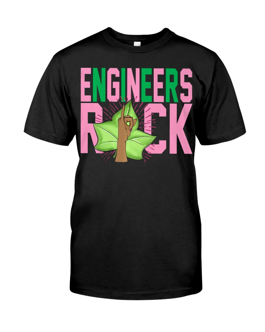 1908 - Pink and Green - AKA Engineer -  Classic T-Shirt