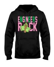1908 - Pink and Green - AKA Engineer -  Hooded Sweatshirt thumbnail