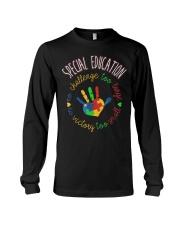 Special Education  Autism Awareness Tea Long Sleeve Tee thumbnail
