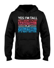 Volleyball Tee - Yes I'm Tall No I Don't P Hooded Sweatshirt thumbnail