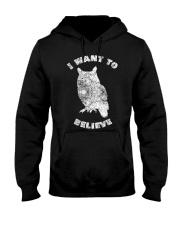 Owl Theory I Want to Believe True Crime Mu Hooded Sweatshirt thumbnail