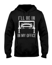 Garage is My Office T-Shirt Mechanic Gift Car Hooded Sweatshirt thumbnail
