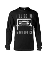 Garage is My Office T-Shirt Mechanic Gift Car Long Sleeve Tee thumbnail