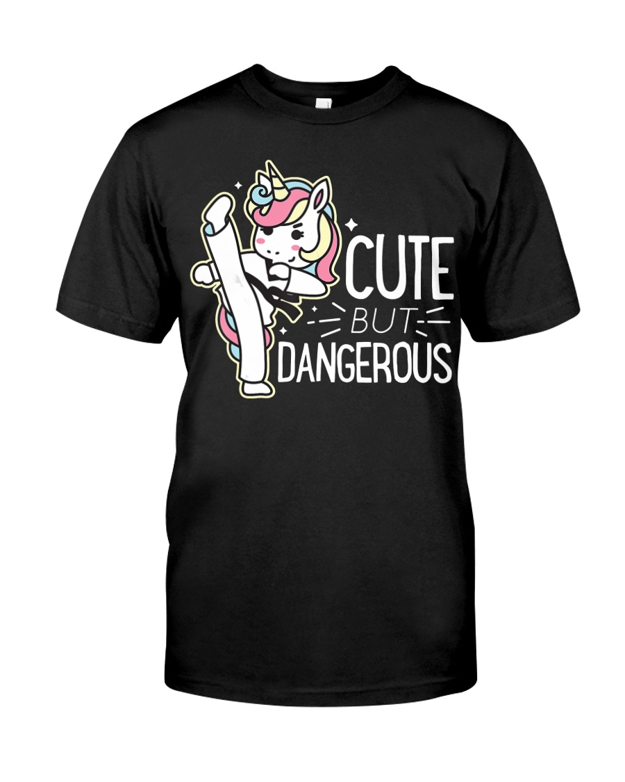 Cute Dangerous Karate Taekwondo Shirt Funny Classic T-Shirt
