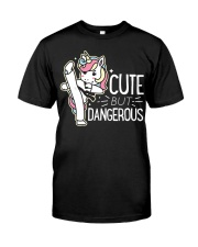 Cute Dangerous Karate Taekwondo Shirt Funny Classic T-Shirt front
