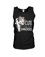 Cute Dangerous Karate Taekwondo Shirt Funny Unisex Tank thumbnail