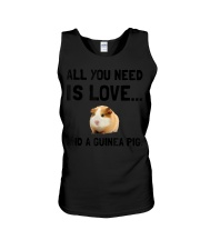 Love And A Guinea Pig Pet T-S Unisex Tank thumbnail