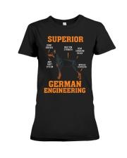DOBERMANS Superior German Engineering I Gift Premium Fit Ladies Tee thumbnail