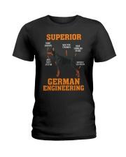 DOBERMANS Superior German Engineering I Gift Ladies T-Shirt thumbnail